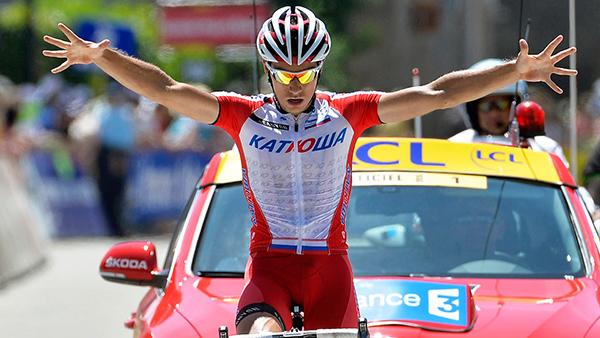 Simon Spilak al Critérium du Dauphiné 2014