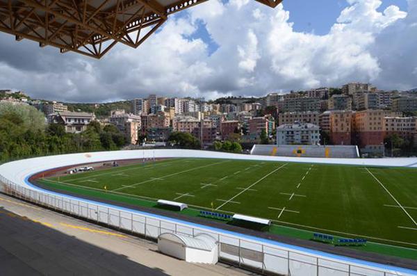 Lo stadio Carlini velodromo di Genova