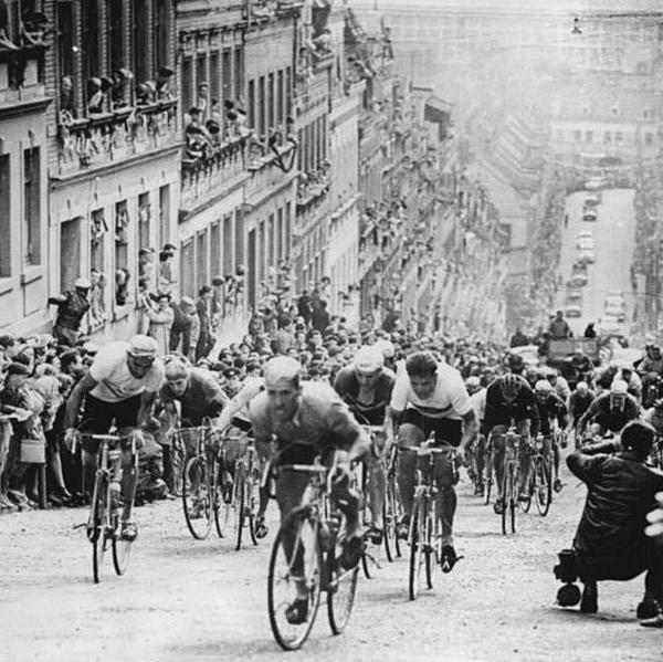 Steil Wand von Meerane Peace Race 1961