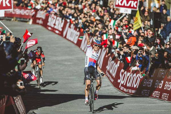 Zdenek Stybar alla Strade Bianche 2015