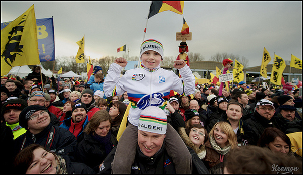 Tifosi al Cyclocross World Championships