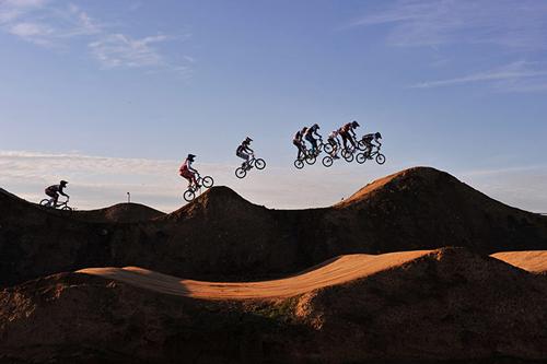 L'UCI BMX Supercross a Stratford