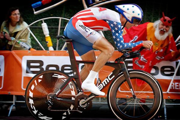 Taylor Phinney ai mondiali di Limburgo