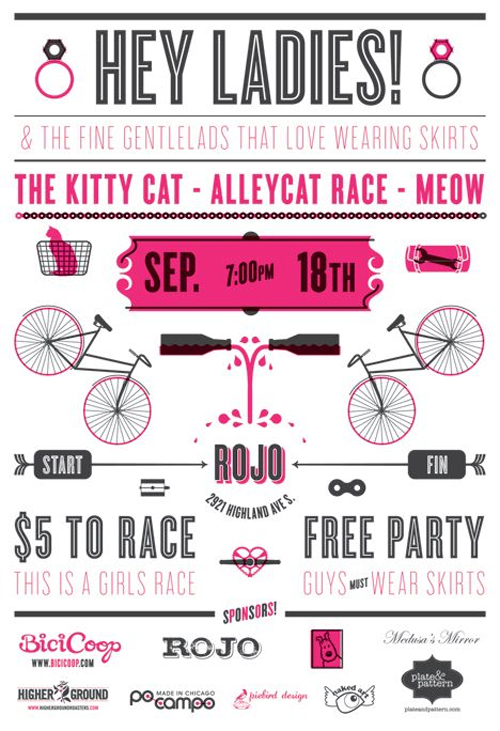 Manifesto della Kitty cat alleycat race