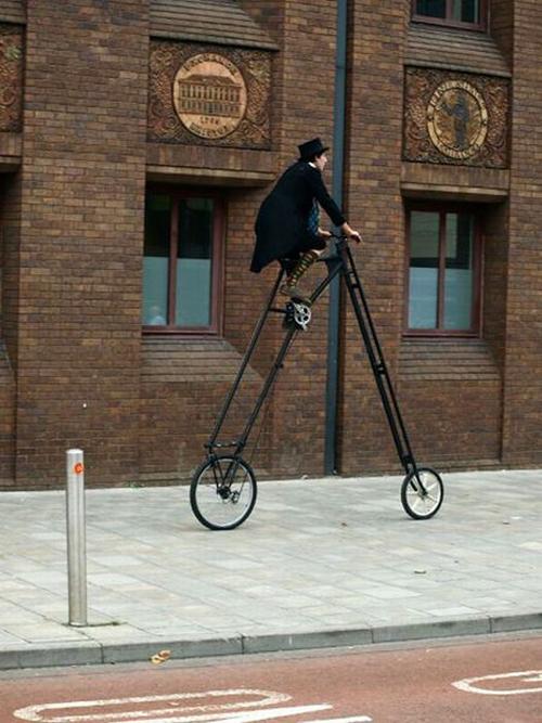 La bici alta tre metri