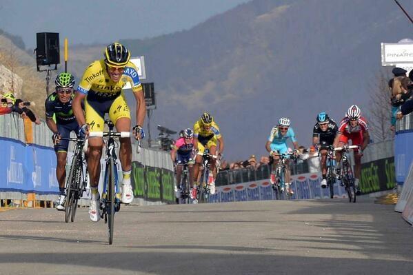 Alberto Contador alla Tirreno-Adriatico 2014