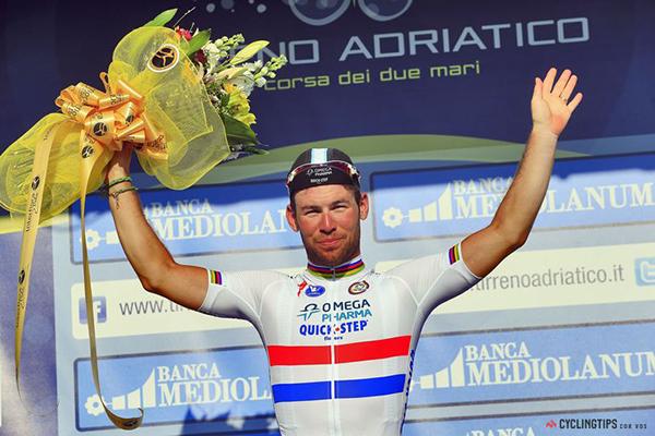 Cavendish alla Tirreno-Adriatico 2014
