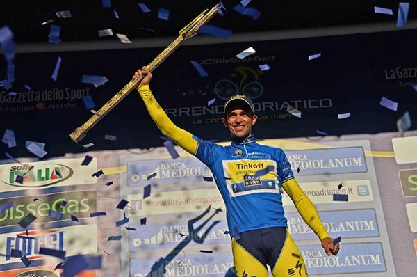 Contador alla Tirreno-Adriatico 2014