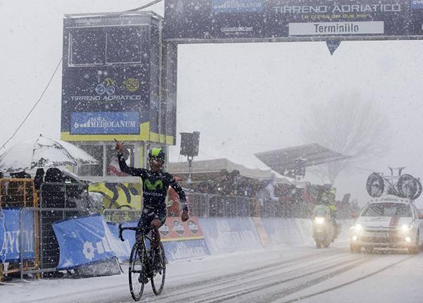 Nairo Quintana alla Tirreno-Adriatico 2015