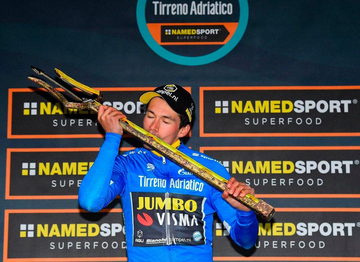 Primoz Roglic alla Tirreno-Adriatico 2019