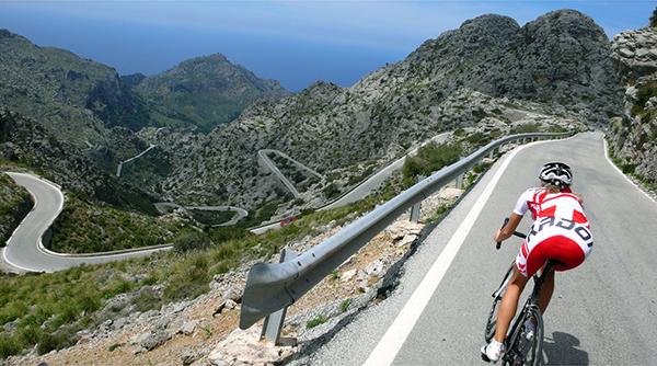 Tornanti in bici