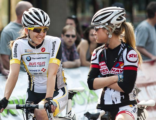 Erin Redl e Megan Rathwell al Tour de Delta