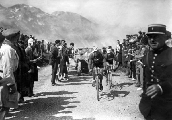 Learco Guerra al Tour 1930