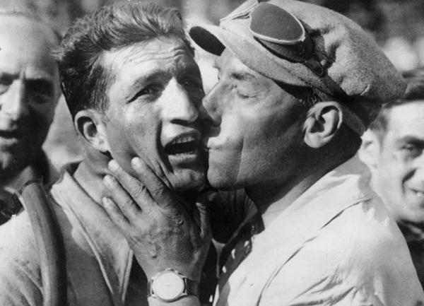 Girardengo e Bartali al Tour 1938