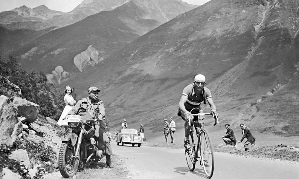 Gino Bartali al Tour de France 1950