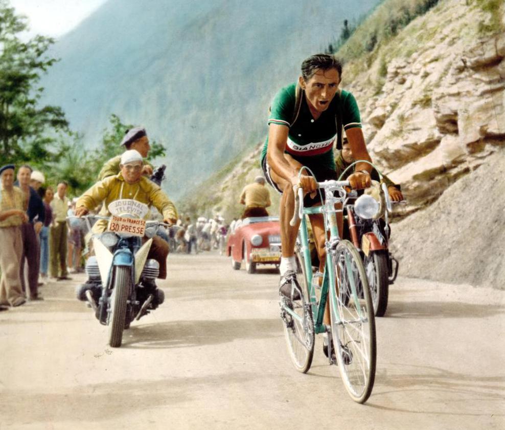 Fausto Coppi al Tour de France 1952