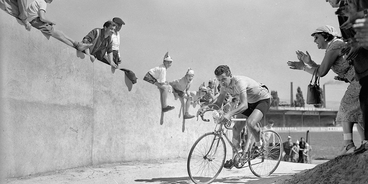 Roger Walkowiak al Tour de France 1956