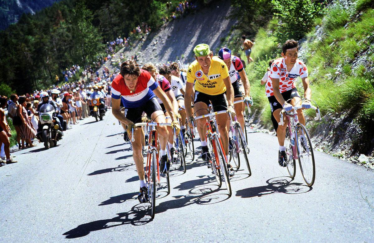 Joop Zoetemelk in Maglia Gialla al Tour de France 1980