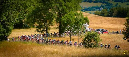 La carovana del Tour de France