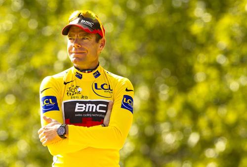 Cadel Evans trionfa al Tour 2011