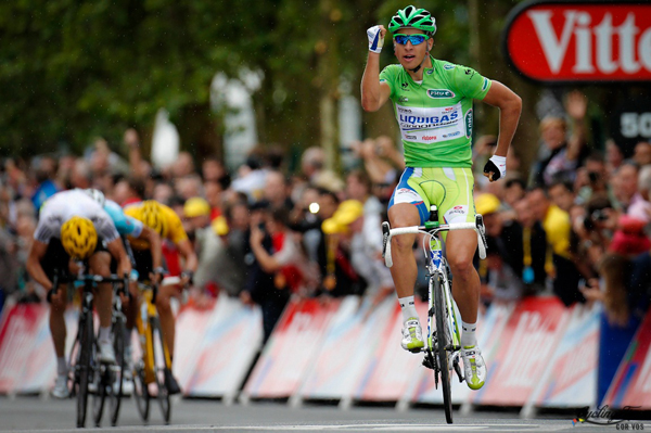 Peter Sagan vince la sua seconda tappa al Tour 2012