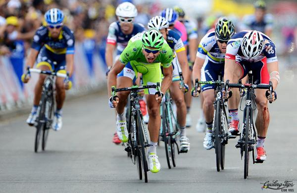 Sagan vince la sua terza tappa al Tour 2012