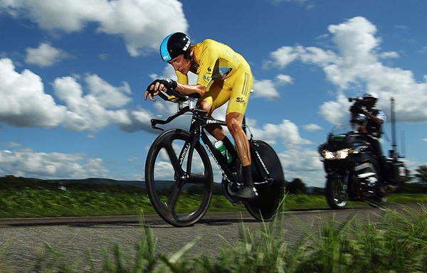 Wiggins a cronometro al Tour 2012