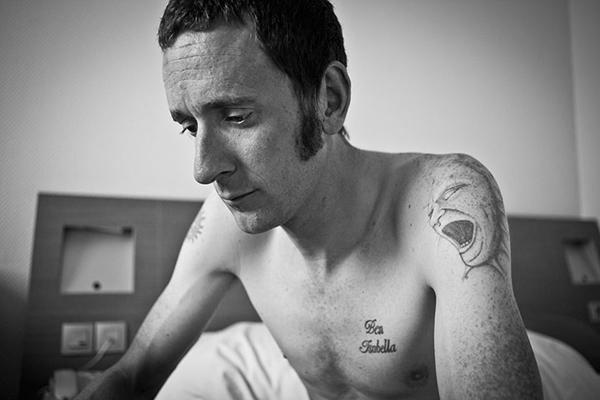 Bradley Wiggins al Tour de France 2012