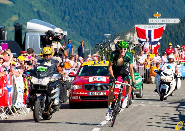 Pierre Rolland vince una tappa al Tour 2012