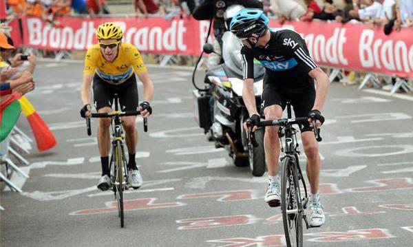 Froome e Wiggins al Tour 2012