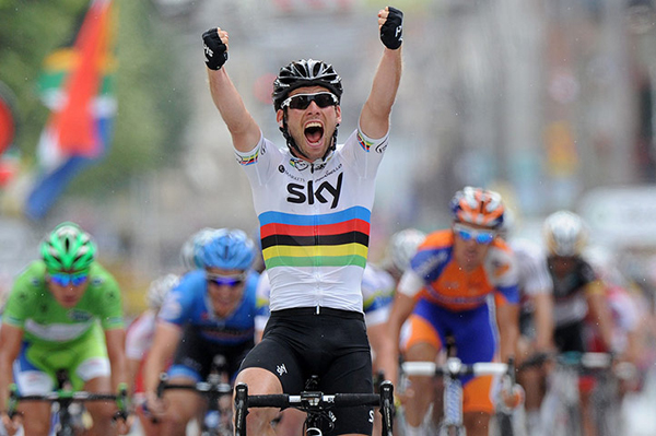 Il ruggito di Cavendish al Tour 2012