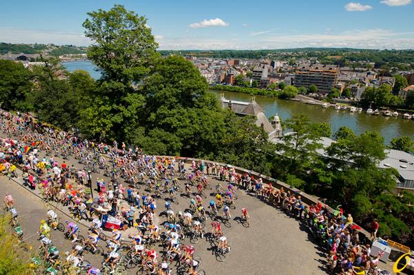 La Cote de la Citadelle a Namur