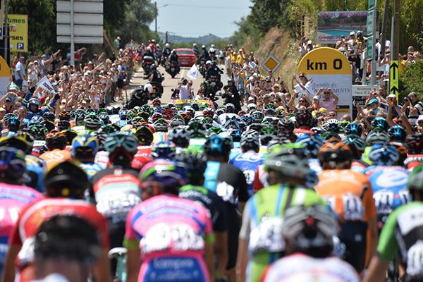 La partenza del Tour de France 2013