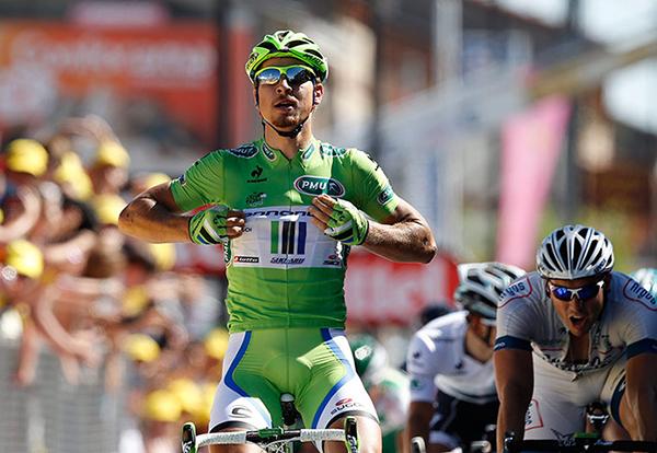 Sagan vince la sua prima tappa al Tour 2013