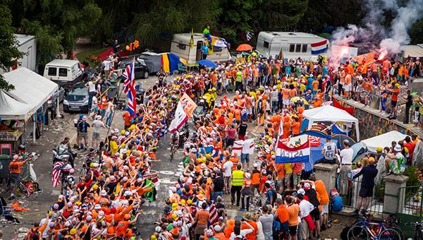Il tornante degli olandesi al Tour 2013