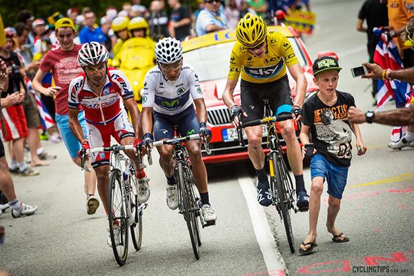 Chris Froome, Nairo Quintana, Joaquin Rodriguez al Tour 2013