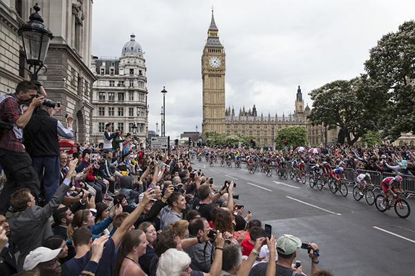 Il Tour de France 2014 a Londra