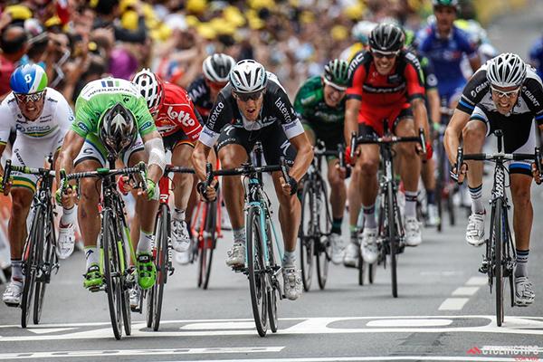 Matteo Trentin al Tour de France