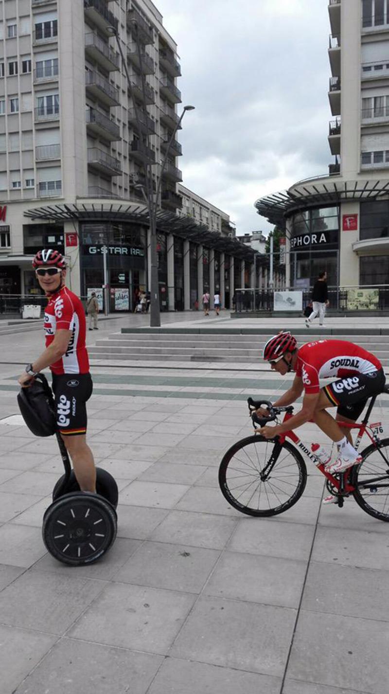 Andre Greipel nel primo giorno di riposo al Tour 2015