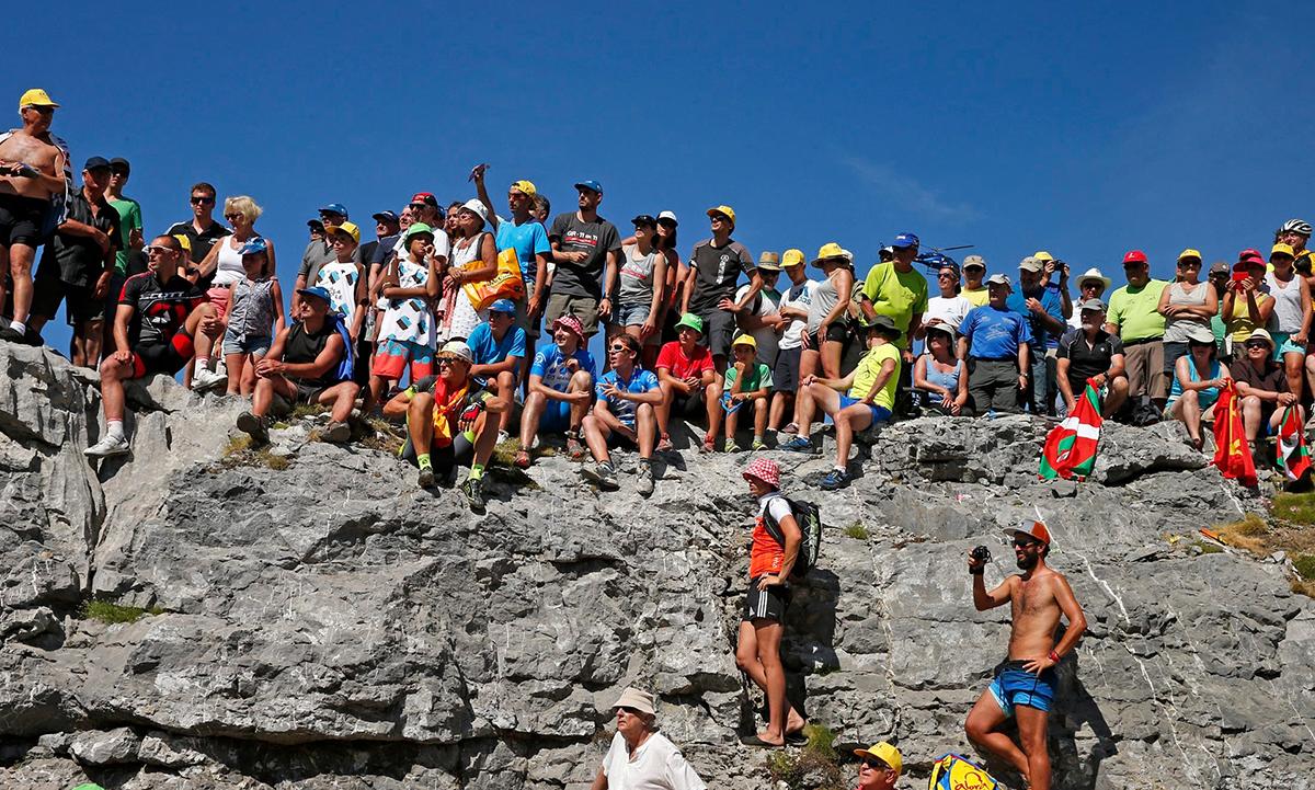 Tifosi pirenaici al Tour 2015