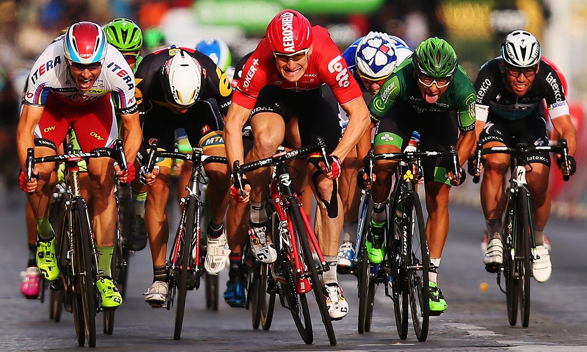 Andre Greipel vince l'ultima volata del Tour 2015