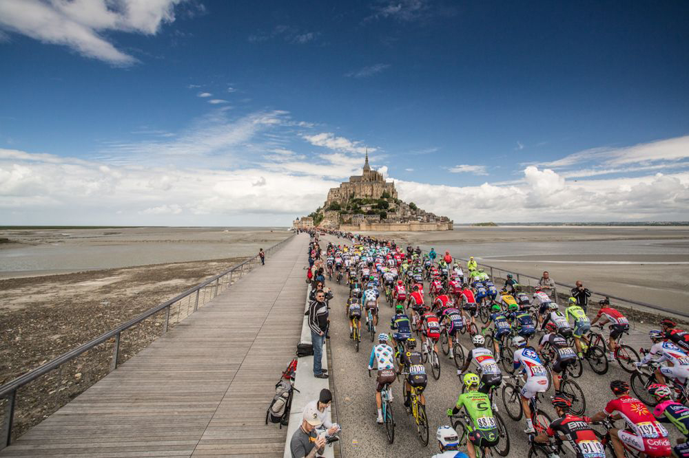 La Grande Partenza del Tour 2016 da Mont Saint-Michel