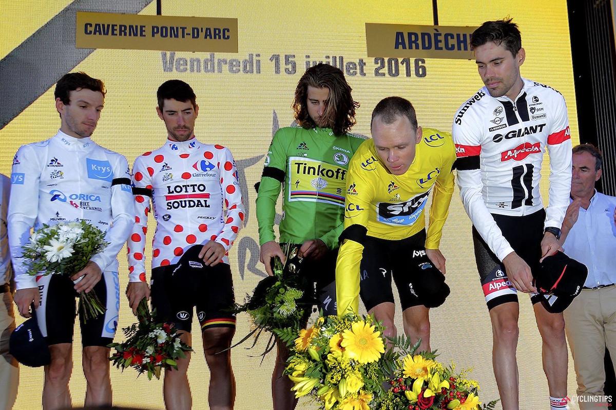 Yates, De Gendt, Sagan, Froome e Dumoulin per le vittime di Nizza
