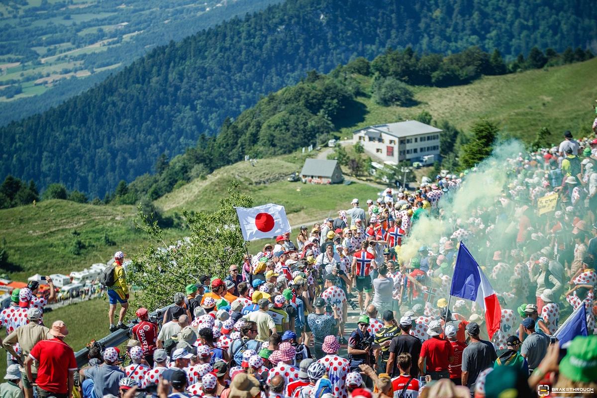 Pubblico sulle salite del Tour 2016