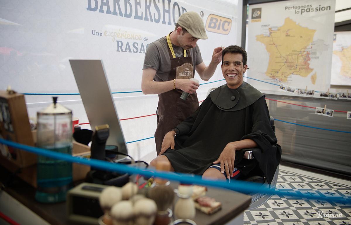 Pantanodal barbiere del Tour 2016