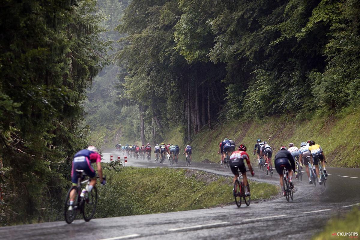 Diluvio sul Tour de France