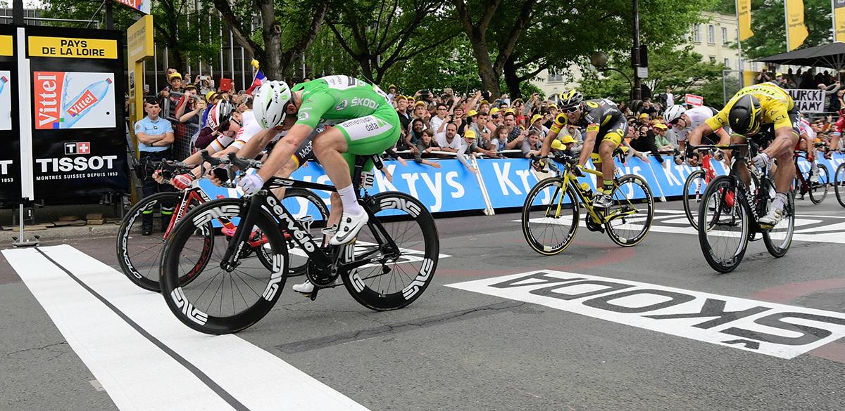 Cavendish e Greipel al fotofinish al Tour 2016