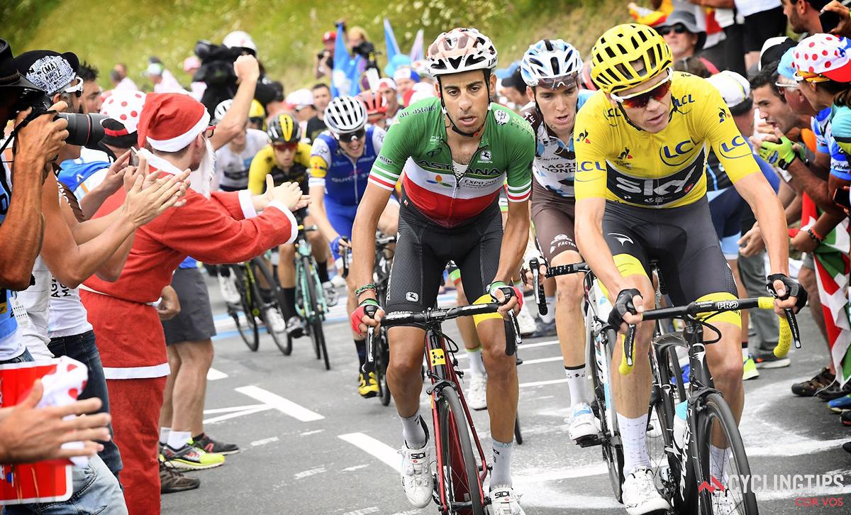 Chris Froome, Fabio Aru, Romain Bardet al Tour 2017