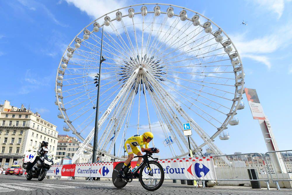 Froome a Marsiglia al Tour 2017
