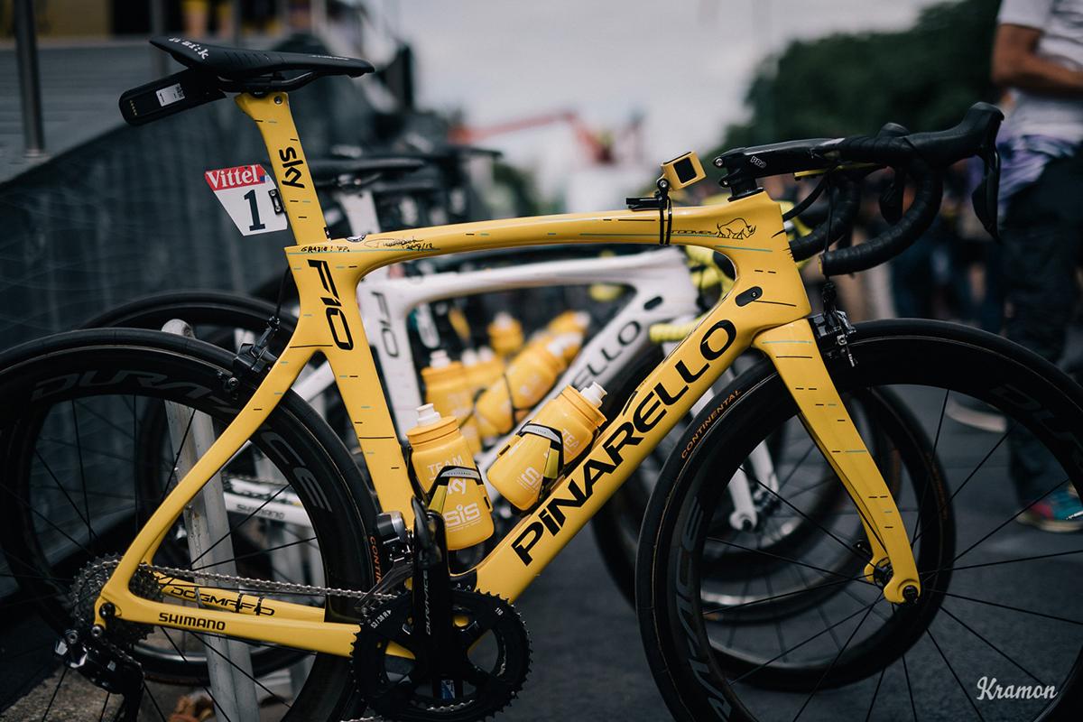 La Pinarello di Froome al Tour 2017